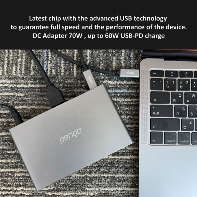 Pengo announces new USB-C Dock for USB charging devices